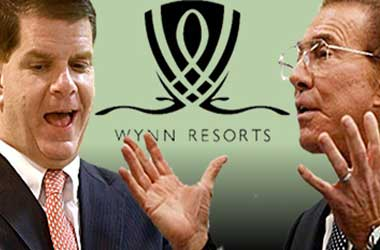 Marty Walsh and Steve Wynn