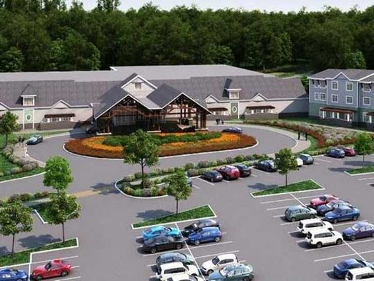 Proposed  Twin River Casino Tiverton Rhode Island