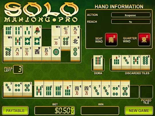 Japanese Solo Mahjong Pro